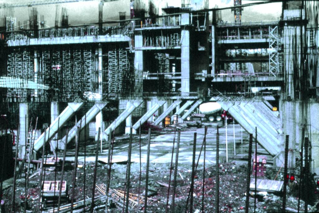 construccion del edificio de EPM